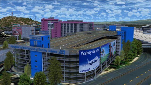 Terminal 1 parking garage