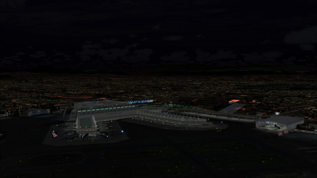 Terminal 2 and apron