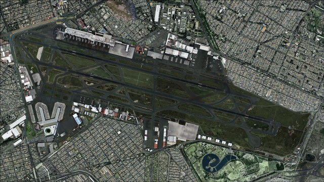 Top down view showing detailed recreation of MMMX