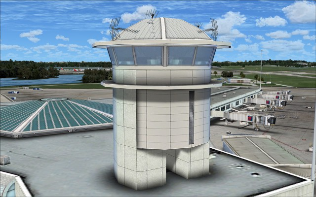 Airside 4 tower