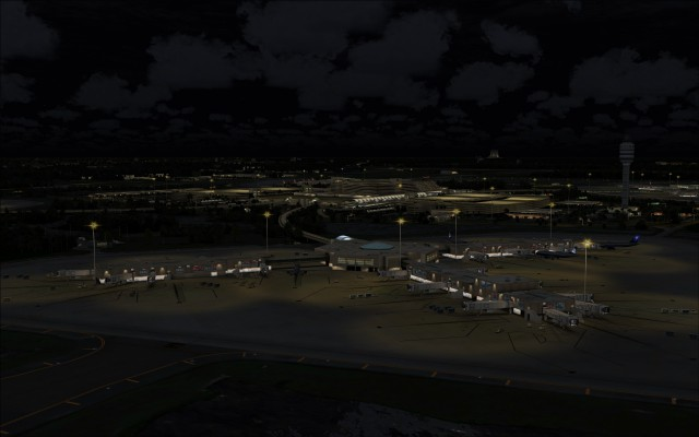 Airside apron lighting