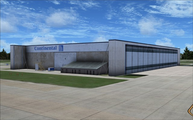 Continental hangar