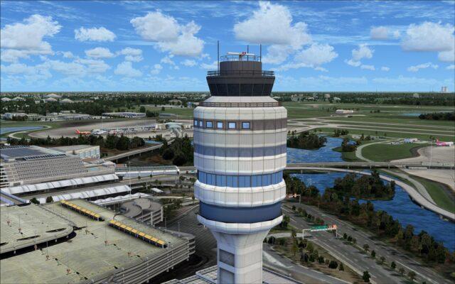 Orlando control tower