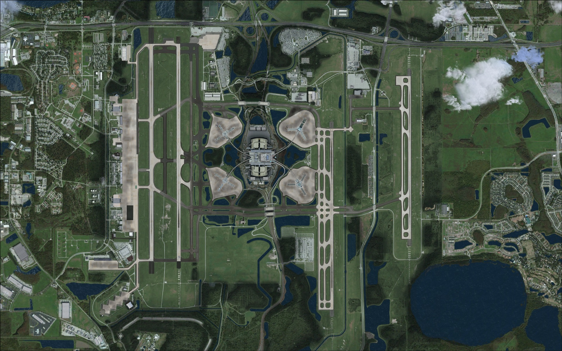 Review Of Taxi2gate Kmco Orlando Intl Fsx