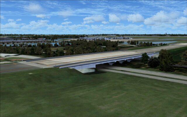 Taxiway F taxiway bridge