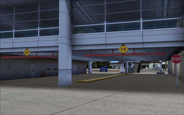 Under the airside