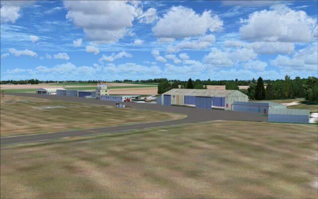 Buildings at LFQJ - Maubeuge Elesmes Airport