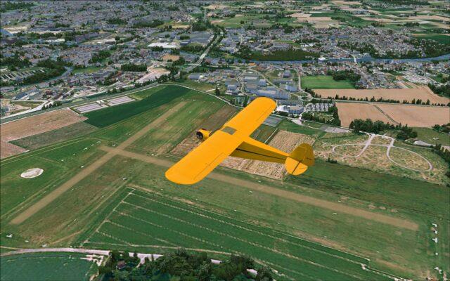 Grass strip airfield LFQO textures look very good