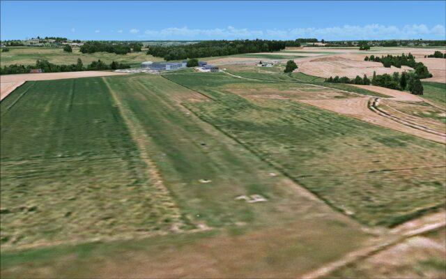 Grass strip at airfield LF5951