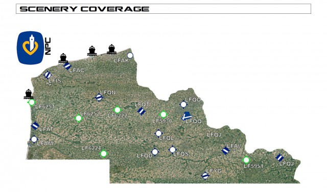 NPDC coverage area map