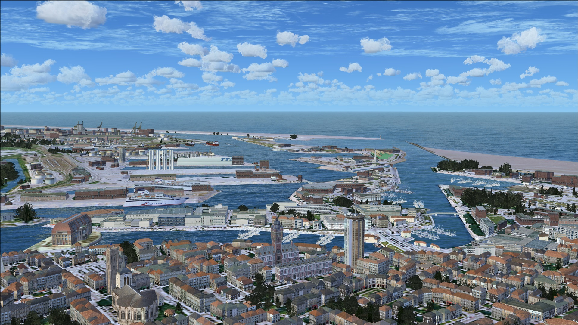 Review of francevfr nord pas de calais v2 for fsx nord pas de calais is the next release in - Dunkirk port france address ...