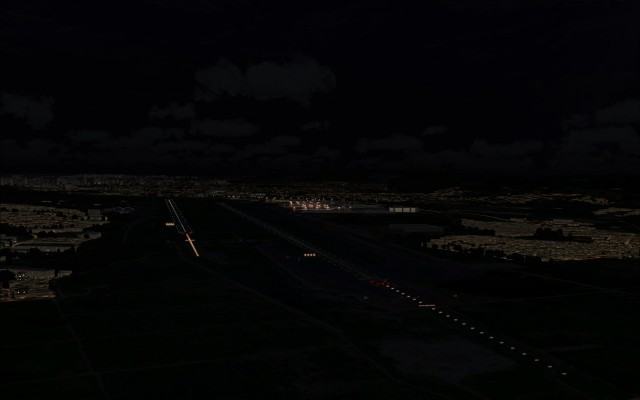 SBGR approach and ground lighting