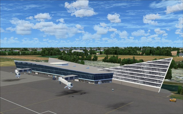 Terminal at LFQQ - Lille-Lesquin