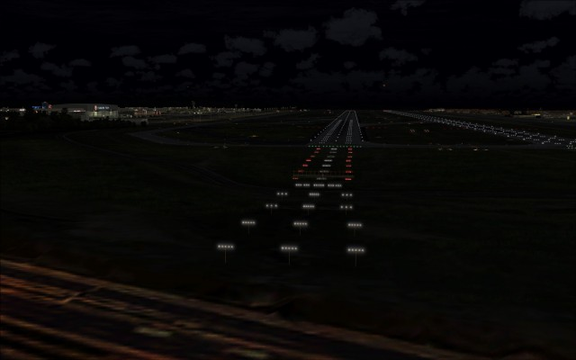 Approach and runway lighting