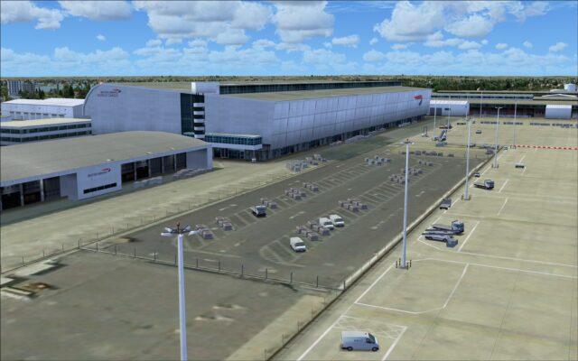 British Airways cargo terminal