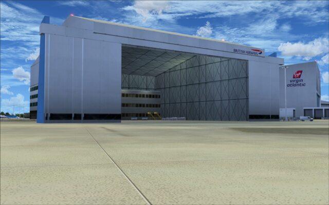 British Airways hangar