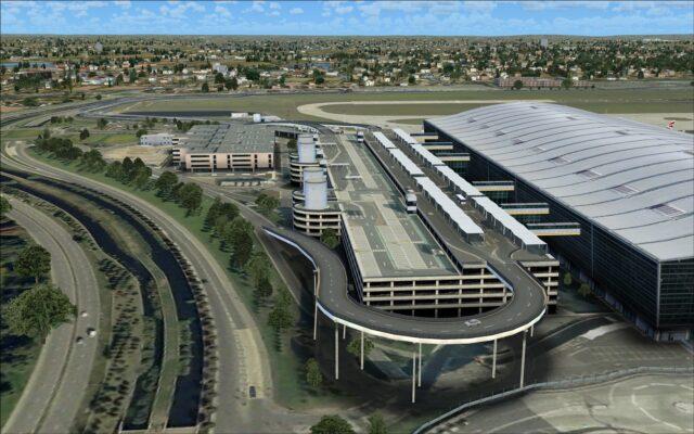Car park next to terminal 5A