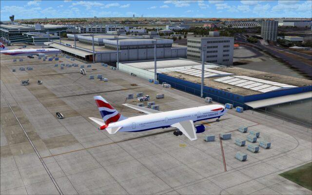 Cargo terminal buildings