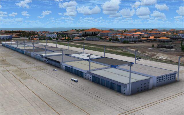 General aviation hangar
