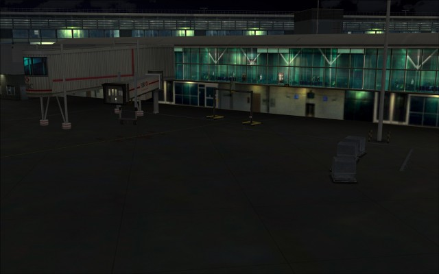 Great view of terminal interior