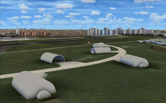 Hardened aircraft shelters