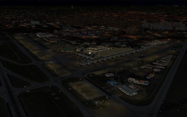 LTBA at night