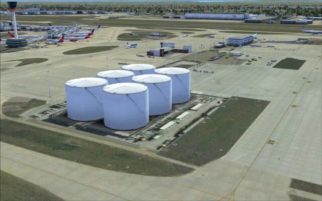 Northern fuel farm