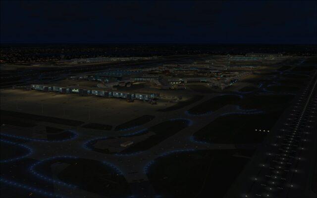 Overlooking Heathrow terminals