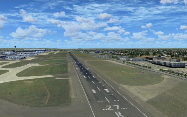 Realistic looking runway