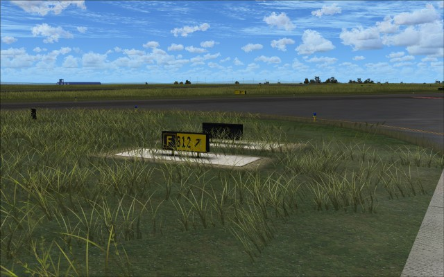 Taxiway markers