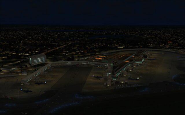 Terminal 4 aprons