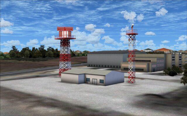 radar towers