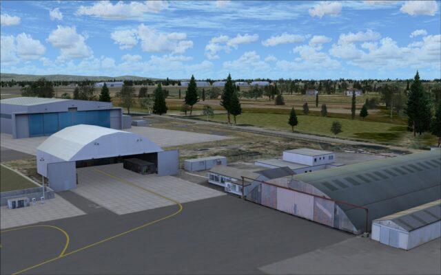 A few more hangars