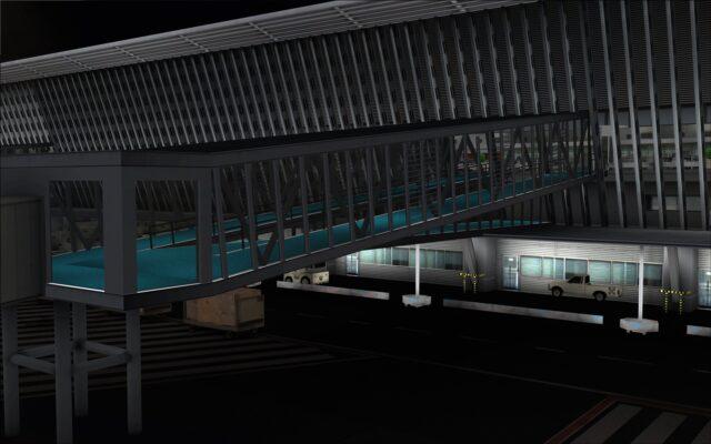 Passenger bridge lighting