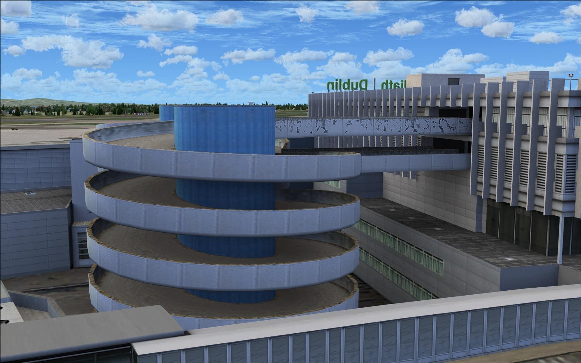 Review Of Aerosoft Mega Airport Dublin Fsx P3dv1 P3dv2