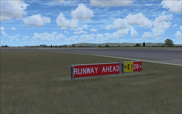 Runway, taxiway markers