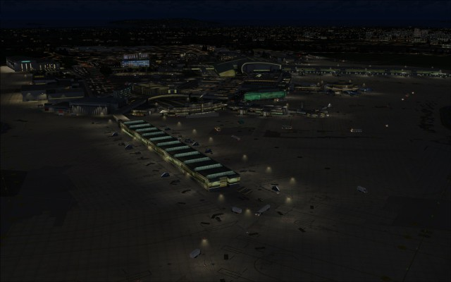 Terminals and apron lighting