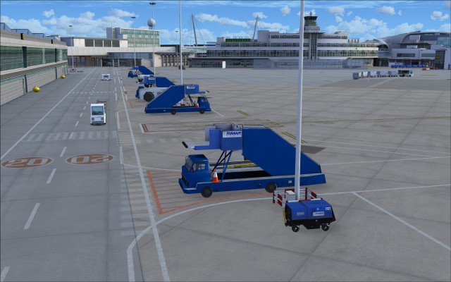 Vehicles in Ryanair colours