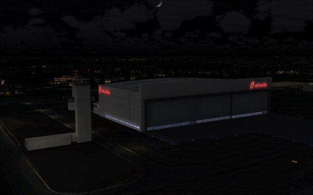 Airberlin hangar