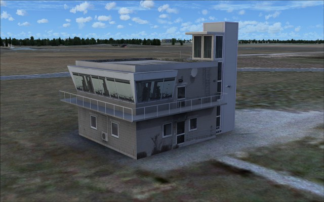 Airfield building