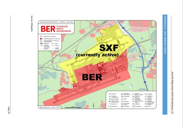BER and SFX areas