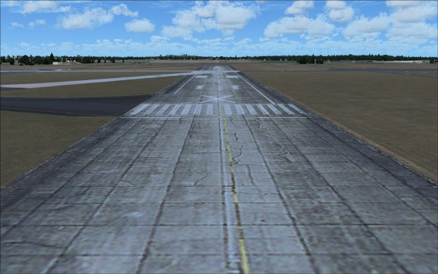 Closed runway 07L 25R