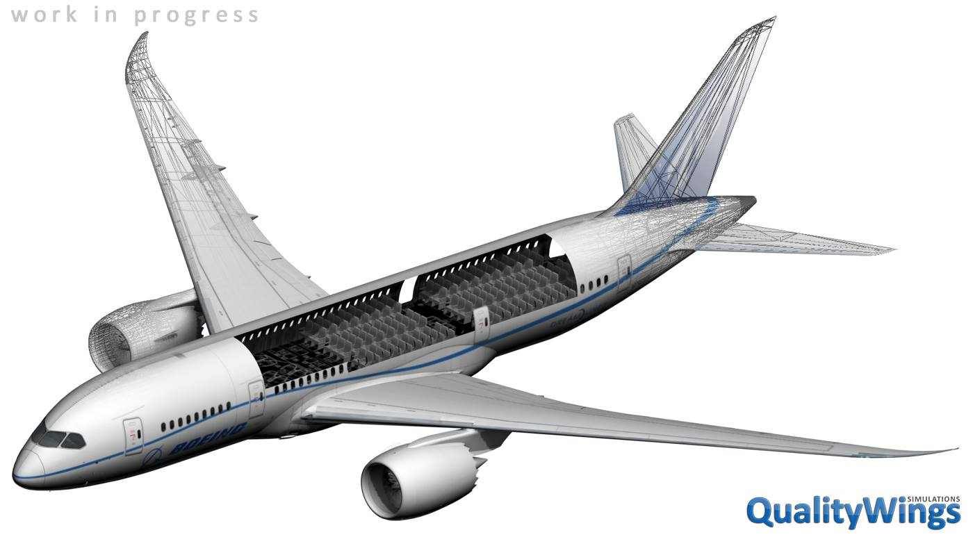 QualityWings 787 quick videos | Referenced in the last development ...