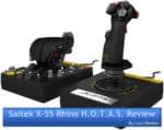 Saitek X-55 Rhino Review Cover