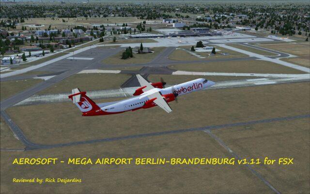 Review of AEROSOFT – MEGA AIRPORT BERLIN-BRANDENBURG v1 11