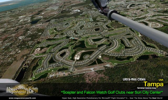 Mega Scenery Earth Ultra Res City Tampa