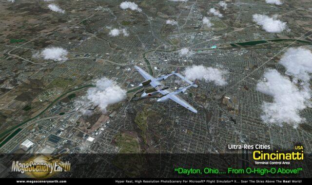 MegaScenery Earth - Ultra Res City Cincinnati