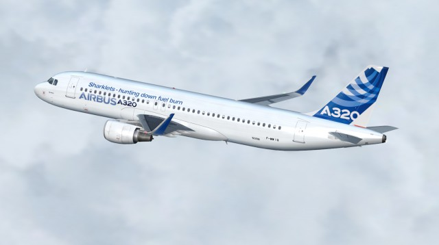 Project Airbus A320 Series sharklets