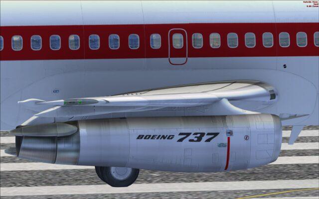 Engine nacel and wing profile