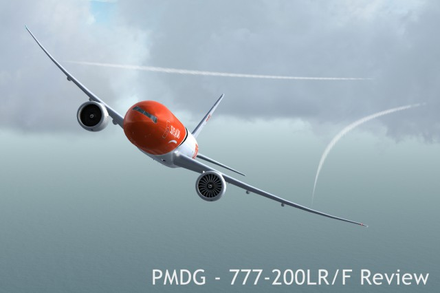 Dumping fuel following a severe engine failure after takeoff in the 777 Freighter.